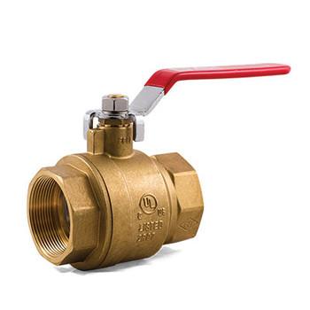 2 in. IPS TrimFit® Brass Ball Valve (FNPT x FNPT) UL/ULc/FM Fire Sprinkler System Products
