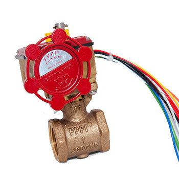 1 in. IPS TrimFit® Bronze Butterfly Valve (FNPT x FNPT) UL/FM Fire Sprinkler System Products