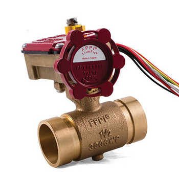 1-1/2 in. IPS TrimFit® Bronze Butterfly Valve (Grooved) UL/cULus/FM Fire Sprinkler System Valve