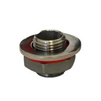 1/2 in. Universal Weldless Bulkhead 304 Stainless Steel Brewers Hardware