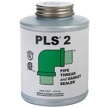 1 Pint (Brush Included) PLS 2 Premium Thread & Gasket Sealer by Gasoila Chemicals - Front