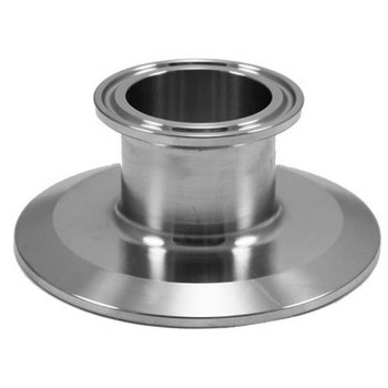 3 in. x 2 in. Tri-Clamp End Cap Reducer, 304 Stainless Steel Tri-Clover Compatible Fitting