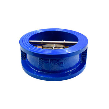 2-1/2 in. Double Door Wafer Water Check Valve - Ductile Iron - 300 PSI