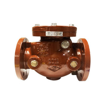 4 in. UL/FM Ductile Iron, 300 PSI Flanged Swing Check Valve