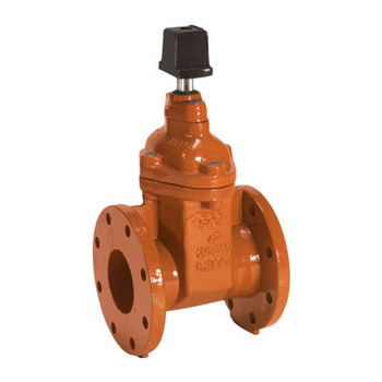 4 in. Ductile Iron Flanged AWWA C515 Gate Valve (Resilient Wedge) with Op Nut - Series 10FN