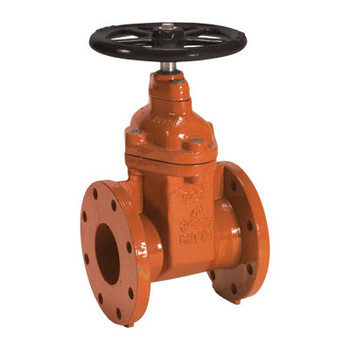8 in. Ductile Iron Flanged AWWA C515 Gate Valve (Resilient Wedge) with Hand Wheel