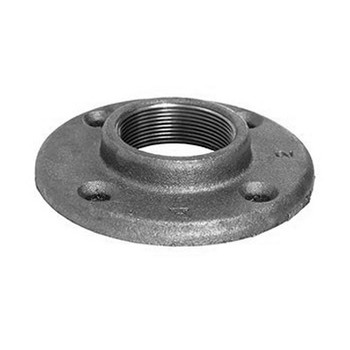 1/4 in. Floor Flange 150# Black Ductile Iron Pipe Fitting (Domestic)