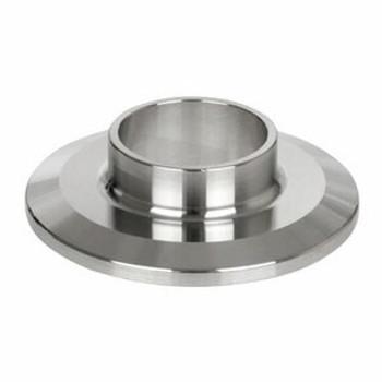 1/2 in. Short Weld Ferrule - 14WMP - 316L Stainless Steel Sanitary Fitting (3A)