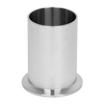 8 in. Tank Ferrule - Light Duty (14WLMP) 304 Stainless Steel Sanitary Clamp Fitting (3A) View 1