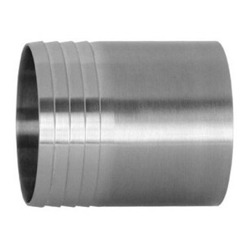 3 in. Weld Hose Adapter - 14WHR - 316L Stainless Steel Sanitary Polished Butt Weld Fitting
