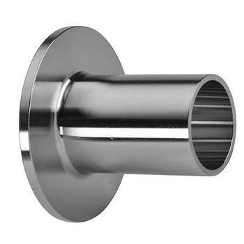 12 in. Unpolished Type A Stub End (14VB-UNPOL) 316L Stainless Steel Tube OD Fitting