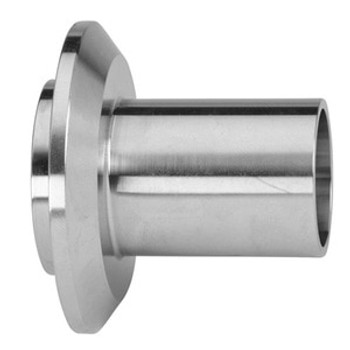 1 in. Male I-Line Long Weld Ferrule (14WLI) 304 Stainless Steel Sanitary I-Line Fittings (3-A)