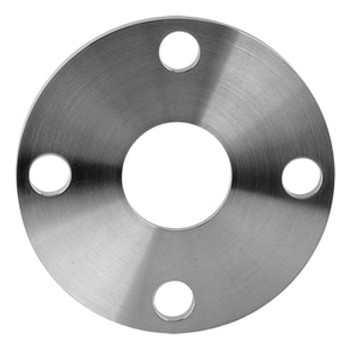 3/4 in. Slip-On Tube Flange - Machine Finish (38SL) 304 Stainless Steel Sanitary Flange