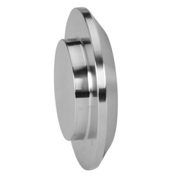 6 in. Male I-Line Solid End Cap (16AI-15I) 316L Stainless Steel I-Line Fitting (3-A)