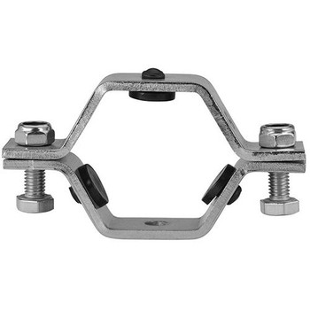 10 in. Hex Hanger With Nitrile Grommets (RGHT) Tube & Tubing Hangers