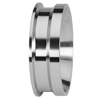 4 in. Clamp x Schedule 5S Weld Adapter - 19MPV - 304 Stainless Steel Pipe Size Fitting (3-A)