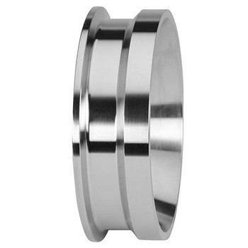 1 in. Clamp By Schedule 40S Weld Adapter - 19MPXLI - 316L Stainless Steel Pipe Size Fitting (3-A)