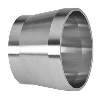 4 in. Tube OD Weld By Schedule 40S Weld Adapter (19WXLI) 316L Stainless Steel Pipe Size Fitting (3-A)