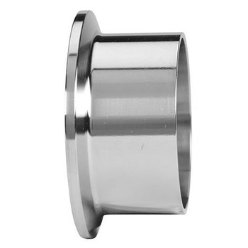 2-1/2 in. Schedule 5 Long Weld Ferrule (14AM7V) 316L Stainless Steel Pipe Size Fitting