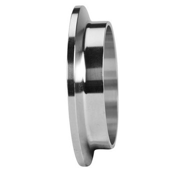 4 in. Schedule 5 Short Weld Ferrule (14WMV) 316L Stainless Steel Pipe Size Fitting