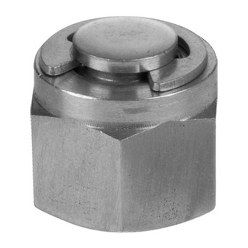 2 in. Tube Plug - Double Ferrule - 316 Stainless Steel Tube Fitting