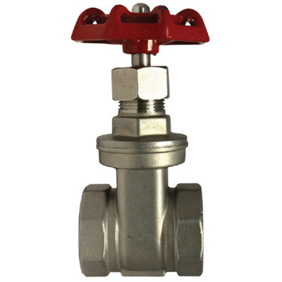 Sharpe Stainless Steel 200 WOG Gate Valve 1 1//4 in - Threaded Threaded or Socket Weld