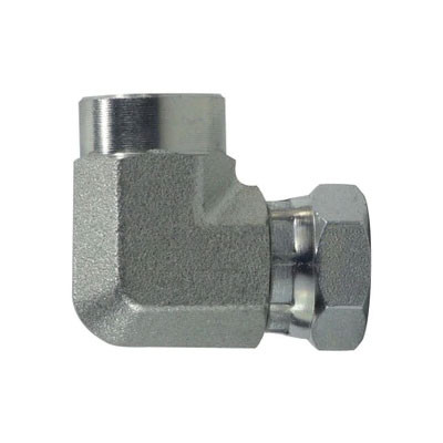 1-1/2 in  FNPT x 1-1/2 in  FNPSM Steel Female Union Elbow Swivel Hydraulic  Adapter