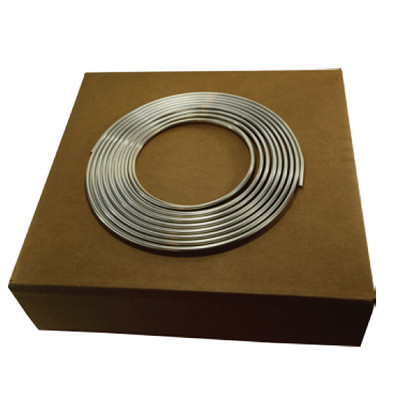 1/8 in  OD Aluminum Tubing, Easy Bend, Alloy 3003, Seamless, ASTM B483, 50  Foot Coil