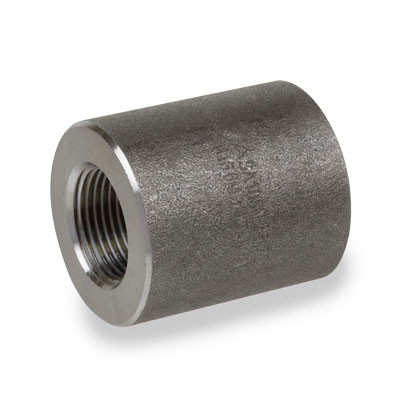 3/4 in  6000# Pipe Fitting Forged Carbon Steel Full Coupling NPT Threaded