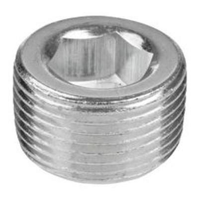 "1//8/"" 1//4/"" 3//8/"" 1//2/"" Stainless Steel Pipe Hexagon Countersunk Plug Hex Plug"