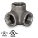 3/8 in. Black Pipe Fitting 150# Malleable Iron Threaded 90 Degree Side Outlet Elbow, UL/FM