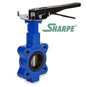 SHARPE® Lug Style Butterfly Valves