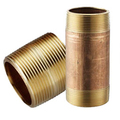 Brass NPTF Pipe Nipples