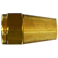 Long Rod Nuts Brass SAE 45 Flare