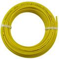 LLDPE Polyethylene Yellow Tubing