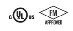 UL, ULC FM Approvals