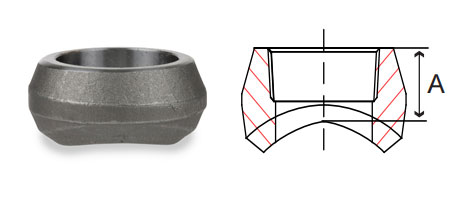 3000# Socket Weld Outlets Forged Carbon Steel Pipe Fittings