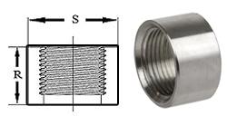 Pipe Fittings Half Couplings Stainless Steel