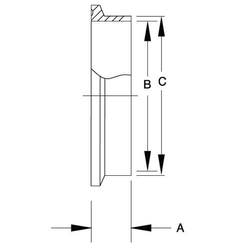 Schedule 5 Solid End Cap (16AMV)