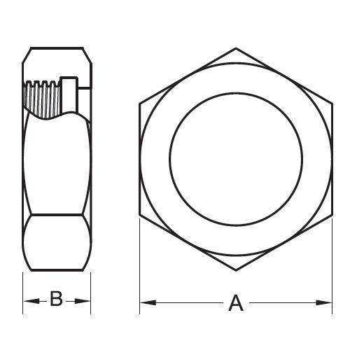 13H Hex Union Nut (3A) 304 Stainless Steel Sanitary Fittings
