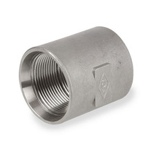 Stainless Steel Pipe Fitting Recessed Drop Coupling 150# 304SS NPT Threaded