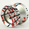 Magic Node Silver Black Red Splash Yoyo