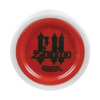 White with Red Caps Freehand Zero Yoyo