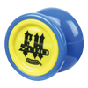 Blue with Yellow Caps Freehand Zero Yoyo
