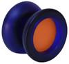 Dark Blue with Orange