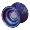 Spin Dynamics Spark yoyo purple with blue & light blue splash