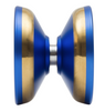 Space Cadet Yoyo dark blue with gold bearing view
