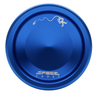 Space Cadet Yoyo blue with silver