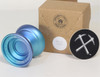 CLYW Compass Yoyo with box  Mirage Fade (blue fade)