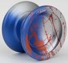 YoYoFactory Horizon Ultra Yoyo Silver Blue Red Splash